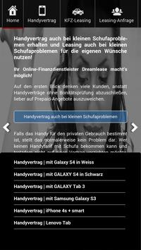 Handyvertrag, KFZ Leasing apk screenshot