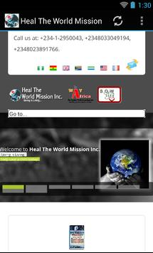 Heal The World Mission Inc poster