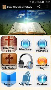Good News Bible Study poster