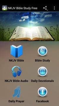 NKJV Bible Study Free poster