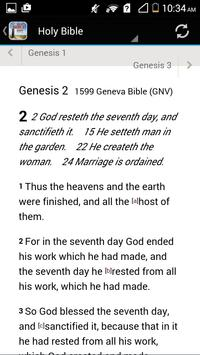 1599 Geneva Bible GNV apk screenshot