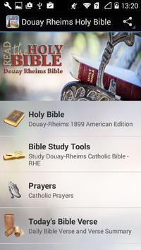 Douay Rheims Holy Bible poster
