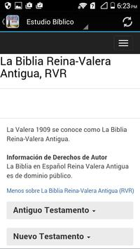 La Biblia Reina-Valera RVR apk screenshot