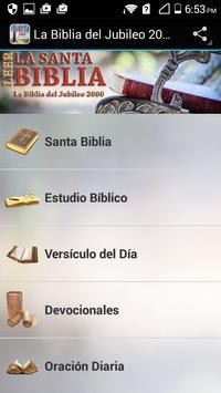 La Biblia del Jubileo 2000 JBS poster
