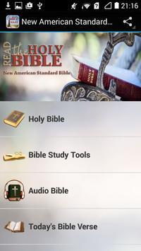 New American Standard Bible ✞ poster