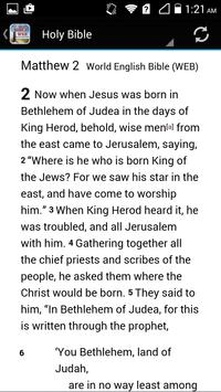 World English Bible WEB apk screenshot