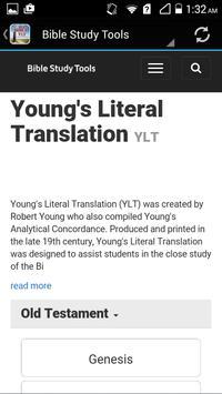Young's Literal Bible YLT apk screenshot