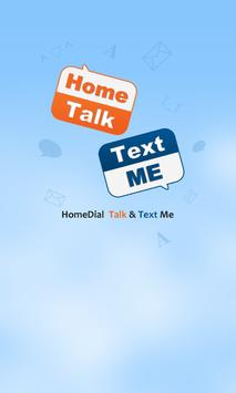 Homedial – Free SMS and Call poster