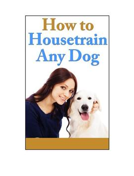 How To Housetrain Any Dog poster