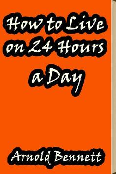 How to Live on 24 Hours a Day poster