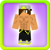 Hot boy skins for minecraft pe icon