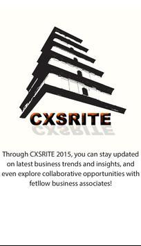 CXSRITE 2015 poster