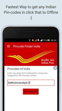 Pincode Finder India poster