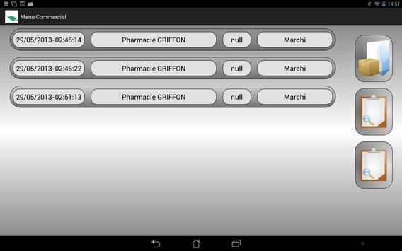 IRIS Projet 2013 apk screenshot