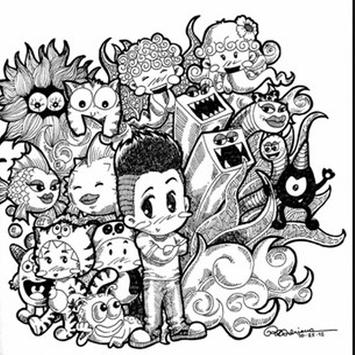 Idea Doodle Art poster