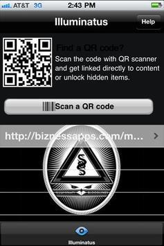 Illuminatus QR Code Scanner apk screenshot