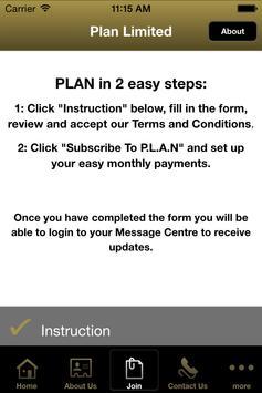 Plan Limited apk screenshot