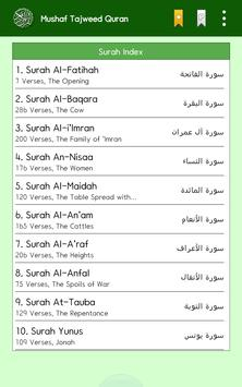 Mushaf Tajweed Quran Reader apk screenshot