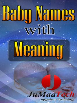 Children Baby Names & Meaning! poster