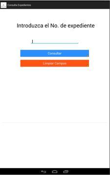 Consulta Expedientes JI apk screenshot