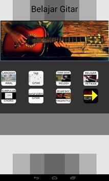 Bimbel Gitar poster