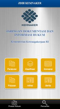 JDIH Kemnaker poster