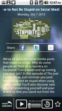 The Joel Comm Show apk screenshot