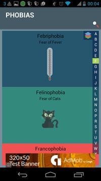 Phobias and Fears apk screenshot