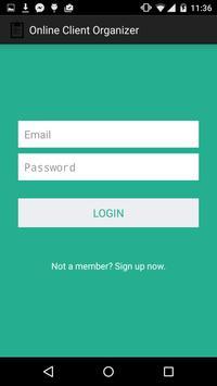 Online Client Organizer apk screenshot