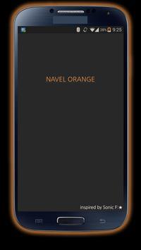 카카오톡테마 - 심플, NavelOrange apk screenshot