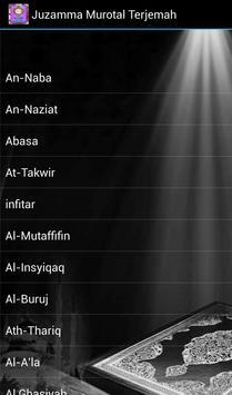 Juzamma Murotal Terjemah apk screenshot