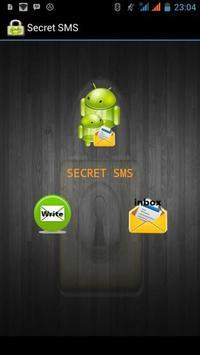 Secret SMS poster