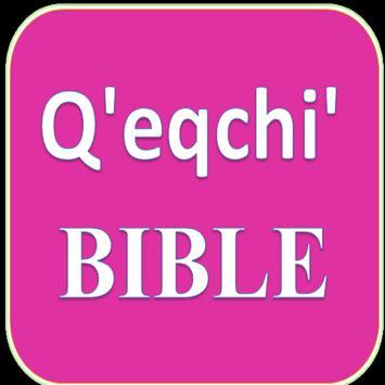 Q'eqchi' Bible (Kekchí) poster