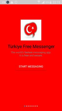 Türkiye Free Messenger apk screenshot
