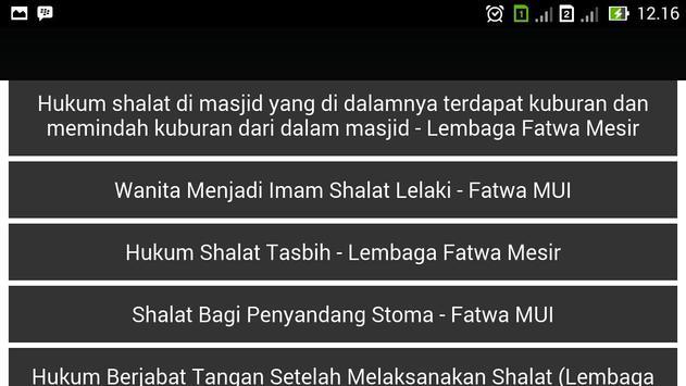 Bahsul Masalah Fiqih Sholat apk screenshot