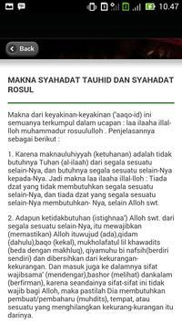 Kitab Tauhid Sanusiyah apk screenshot