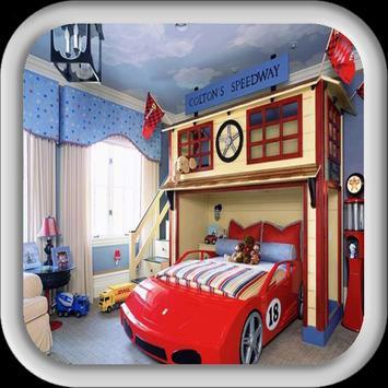 Kids Bedroom Decoration Design poster