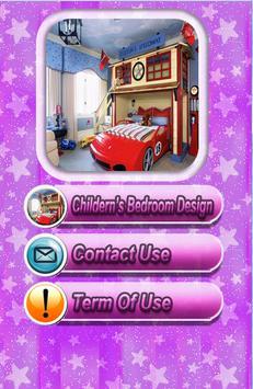 Kids Bedroom Decoration Design apk screenshot
