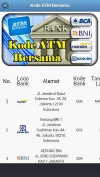 Kode ATM Bersama apk screenshot