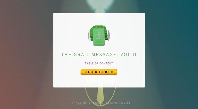 The Grail Message Vol 2 apk screenshot