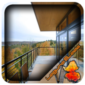 Iron Fence Balcony Design icon