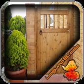 Single Wooden Gate Design icon
