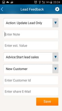 LeadsGo, Leads ACT! apk screenshot