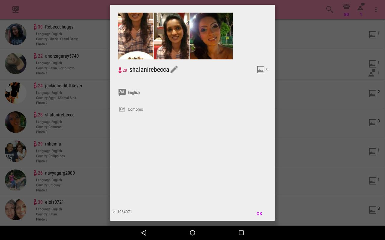 Dating chat free apk