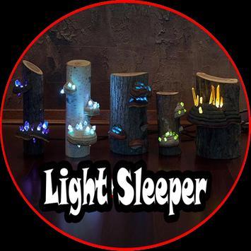 Light Sleeper Design poster
