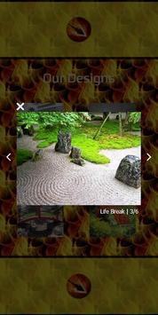 Japanese Zen Garden Bridge apk screenshot