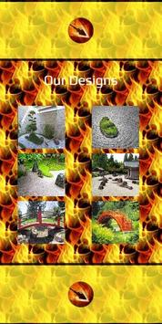 Modern Garden Table and Chairs poster