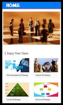 Learn Strategic Management poster
