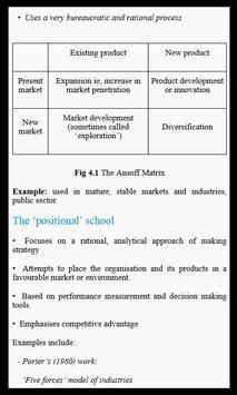 Learn Strategic Management apk screenshot
