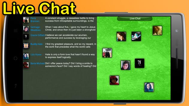Live Chat poster